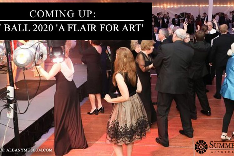 Coming Up: Art Ball 2020 'A Flair for Art'