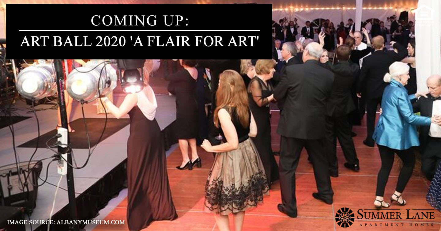 Art Ball 2020 'A Flair for Art'