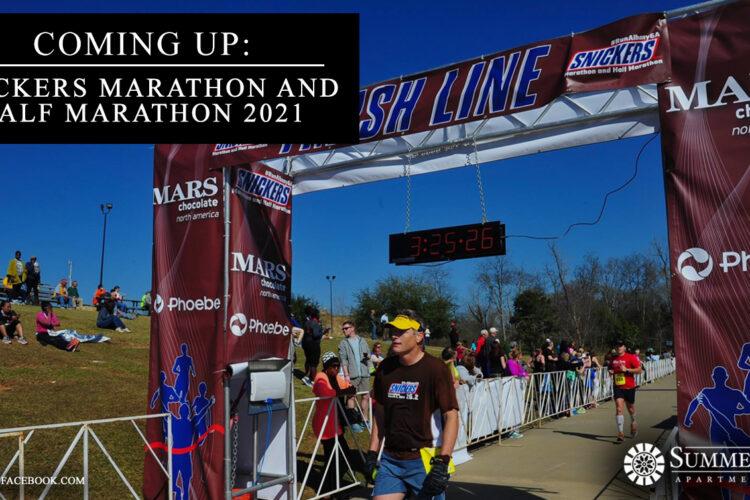 Coming Up: Snickers Marathon and Half Marathon 2021