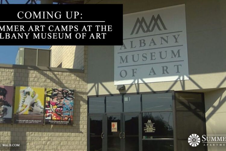Coming Up: Summer Art Camps at the Albany Museum of Art